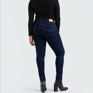 721 high rise Levi's skinny jeans